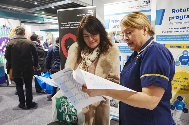 Get to rcni nursing careers and jobs fair manchester