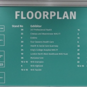 Print your logo on the floor plan